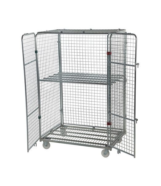 Four Sided Jumbo Security Roll Cage