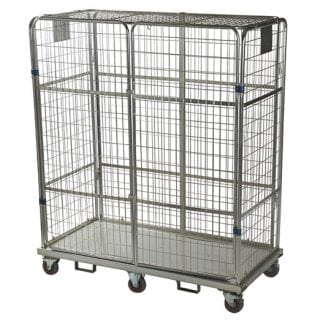 Automotive Heavy Duty Jumbo Roll Cage With Lid