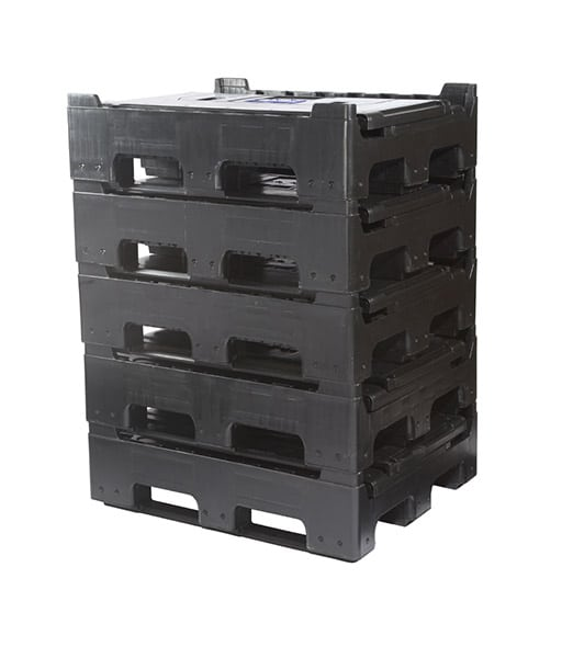 Collapsible Plastic Box Pallet