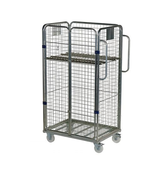 Four Sided Merchandising Picking Trolley