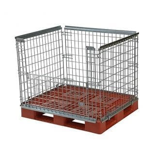 Standard Pallet Retention Unit  - Half Gate Access