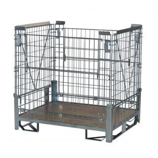Heavy Duty Rackable and Collapsible Hypacage