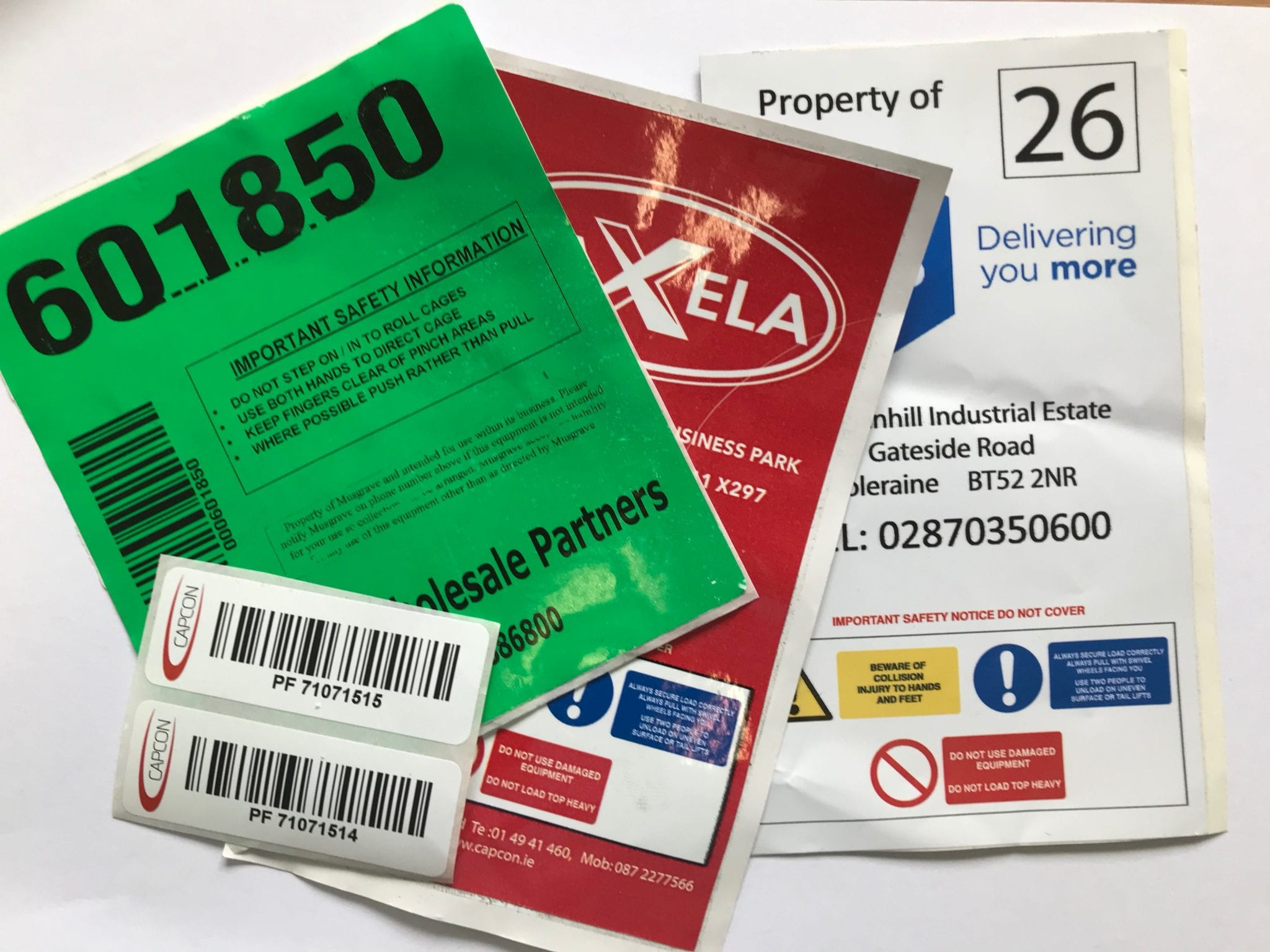 ID Plates and Labels