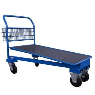 Standard Blue Cash & Carry Trolley