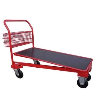 Standard Red Cash & Carry Trolley