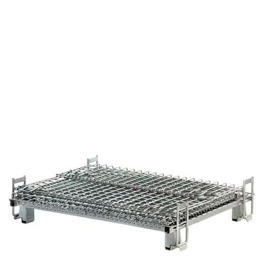 Nestable Stock Trolley Folding Shelf