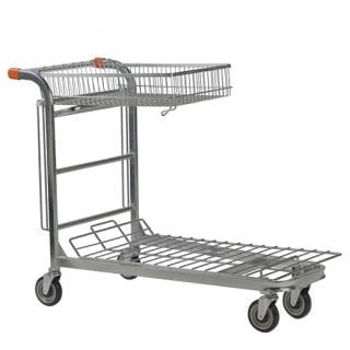 Nestable Stock trolley Folding Basket